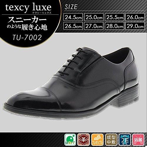アシックス商事 ビジネスシューズ texcy luxe テクシーリュクス 2E相当 ストレートチップ...