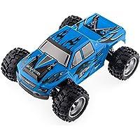 Wltoys A979 1/18スケール 2.4GHz 4WD ハイスピードモンスタートラック (ブルー) [並行輸入品]