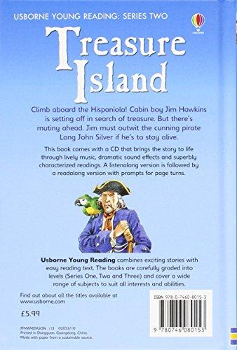 UsbornePublishingYoungReadingSeries2『TreasureIsland』