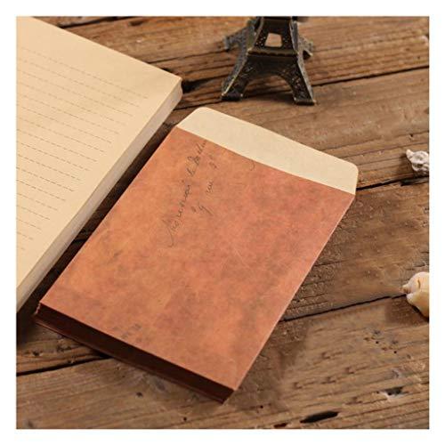 クラフト封筒、手紙を書く文具紙・封筒セット、ヴィンテージ封筒(100便箋+封筒50)
