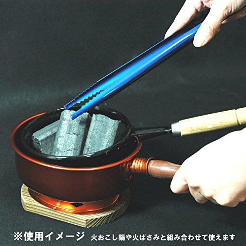 【炭関連商品】 台付台十能 [だいつきだいじゅうのう] (アルミ製) 安全に炭を運ぶ道具