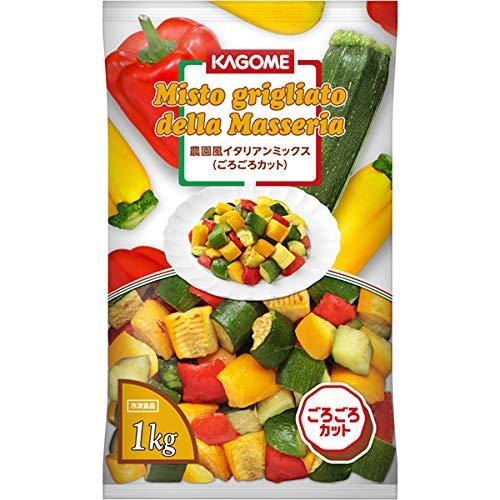 【業務用】カゴメ 農園風イタリアンミックス(ごろごろカット) 冷凍 1kg