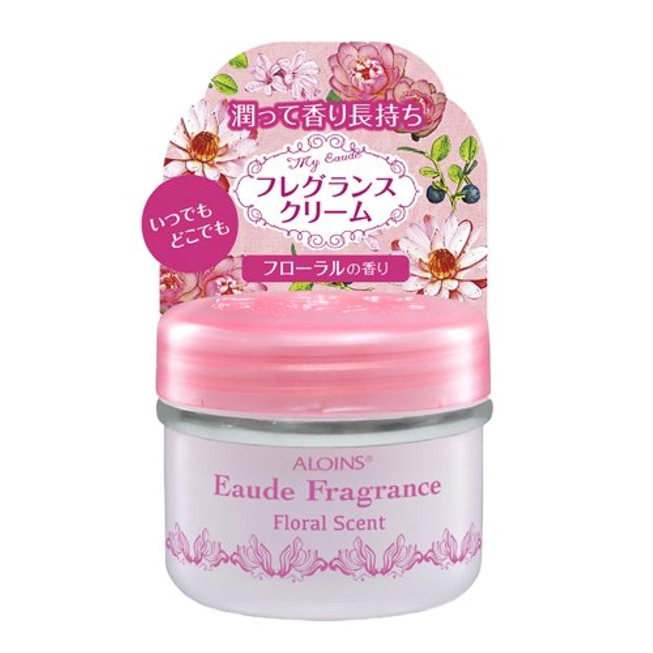 首バッフル矛盾アロインス オーデフレグランス フローラルの香り 35g