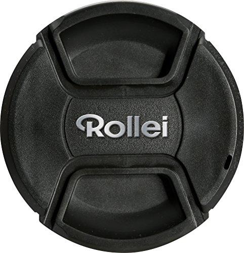 Rolleiレンズキャップ86mm–堅牢な保護を傷と損傷、backup-tape本、完璧継手–ブラック