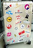 航空 旅行 ステッカー シール 30枚セット スーツケース タブレットPCに