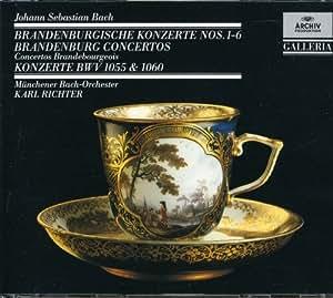 6 Brandenburg Concertos: Bwv 1055 1060