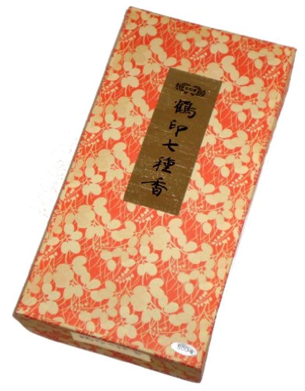 うつ茎合成玉初堂のお香 鶴印七種香 500g #671