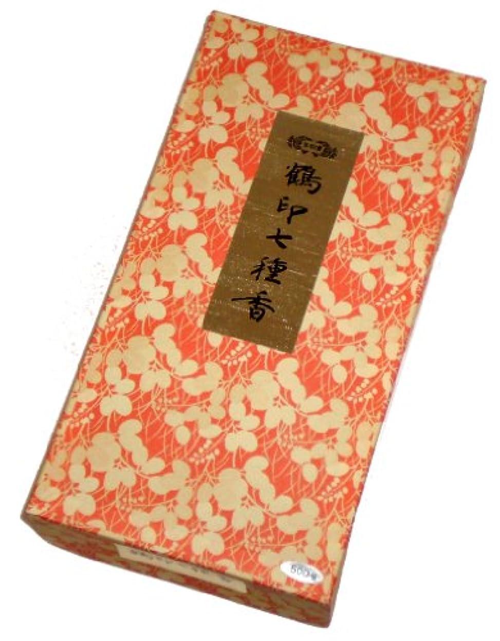 抽出貪欲秋玉初堂のお香 鶴印七種香 500g #671
