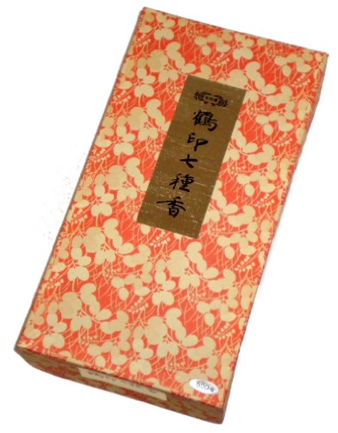 パーチナシティ区競う玉初堂のお香 鶴印七種香 500g #671
