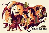 ポスター トム ウェイレン Ghostbusters ゴーストバスターズ 限定375枚 手書きナンバリング入り