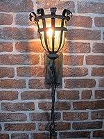 アイアン 壁付けランプ ブラケット照明 展示品特別販売