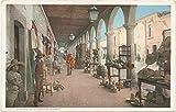 ヴィンテージはがき印刷| PortalesのA Mexican市場、ティファナ、メキシコ、1898年| HistoricalアンティークFineアート複製 16in x 10in 445979_1610