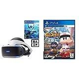 PlayStation VR PlayStation Camera 同梱版+PlayStation VR WORLDS + 実況パワフルプロ野球2018 セット