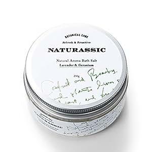 ナチュラシック ナチュラルアロマバスソルトLG ラベンダー&ゼラニウムの香り 250g [天然由来成分100%]