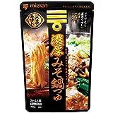 ミツカン 〆まで美味しい濃厚みそ鍋つゆ ストレート 750g×3袋