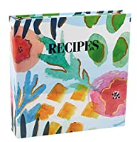 (Watercolors) - Meadowsweet Kitchens Create Your Own Collected Recipes Cookbook - Watercolours