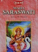 Maha Saraswati–20スティック六角チューブ–裾Incense