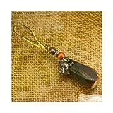 【パイレーツ・オブ・カリビアン】スカルストーン携帯ストラップ(タイガーアイ)DIS-22-03