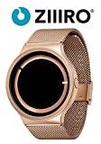【日本正規代理店】[ジーロ] ZIIIRO 腕時計 エクリプス ピンク ゴールド Eclipse Z0012WRR ユニセックス