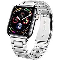VICARA for Apple Watch バンドアップルウォッチ3 ステンレスApple Watch Series 3&2&1 ビジネス風 42mm銀