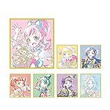 キラッとプリ☆チャン トレーディング Ani-Art 色紙 BOX商品 1BOX=7個入り、全7種類