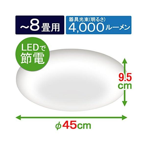 アイリスオーヤマ LED シーリングライト 調...の紹介画像8