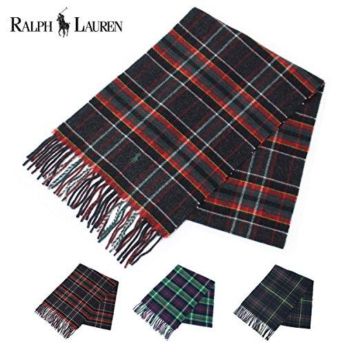 (Ralph Lauren) Polo Ralph Lauren tartan wool muffler PC0019 [parallel import goods]