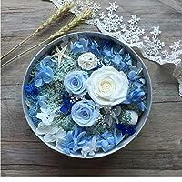 ローズ バラ プリザーブドフラワー 枯れない花 アレンジ 花 お誕生日 お祝い 結婚祝い ギフト 開店 お返し 贈り物 カード付き JINGYS