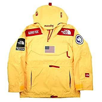 SUPREME シュプリーム ×THE NORTH FACE 17SS Trans Antarctica Expedition Pullover GORE-TEX プルオーバージャケット 黄 L 並行輸入品