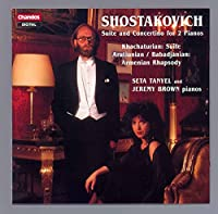 Russian Music for Two Pianos
