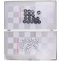 Baosity ポータブル ミニ 磁気 国際チェス ボードゲーム チェスゲーム