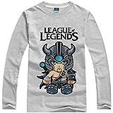 [League of Legends] Tシャツ 長袖 Tryndamere XS?3XL 7サイズ 3カラー [CS-LOL-F0091]