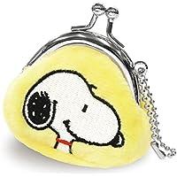 スヌーピー 財布 がま口 プチコロ イエロー RM-4839