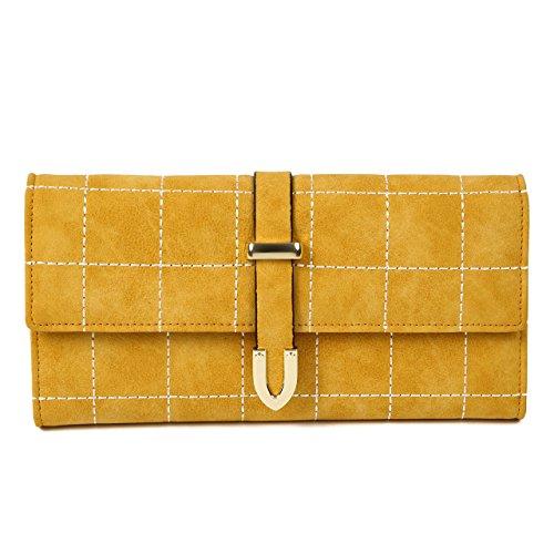 [해외]piopiodream 지갑 여성 지갑 패션 간단한 선물 상자와/piopiodream wallet womens long wallet fashionable simple gift box included