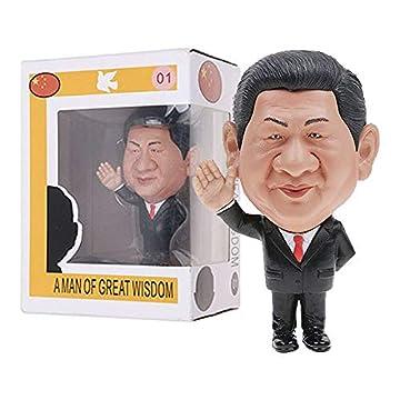 習近平 国家主席風 フィギュア (1) 約10cm Xi Jinping A MAN OF GREAT WISDOM