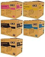 OKI 純正 ID-C4R イメージドラム 5本セット (ブラック × 2 / シアン/マゼンタ/イエロー) / COREFIDO series MC780dn ・ MC780dnf 対応