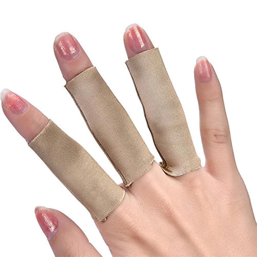 ムスタチオホイッスルナンセンス3本の指の皮膚の保護カバーフライフィッシングラインストリッピング保護ハンドガード