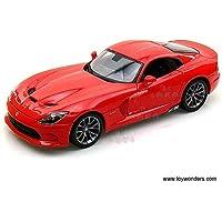 おもちゃ ホビー 31128r Maisto マイスト - Dodge Srt Viper Gts Hard Top (2013, 1:18, red 赤 レッド) 31128 diecast ダイキャスト Car Model Auto Vehicle Die Cast Metal Iron Toy Transport 模型 トイ [並行輸入品]