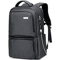 [アリアルク] リュック リュックサック バックパック ビジネスリュック メンズ PCバッグ ラップトップ 15.6インチ USB充電ポート 盗難防止 防水レインカバー付き