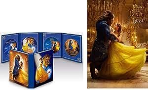 【Amazon.co.jp限定】美女と野獣 MovieNEX コレクション(期間限定) [ブルーレイ+DVD+デジタルコピー(クラウド対応)+MovieNEXワールド] B3ポスター付 [Blu-ray]