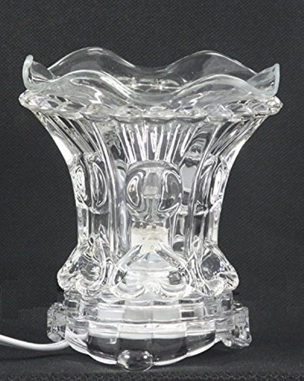 父方の優雅な絶滅したクリア( es259cl ) ElectricガラスフレグランスScented Oil Warmer ( Burner / Warmer /ランプ) withディマースイッチ