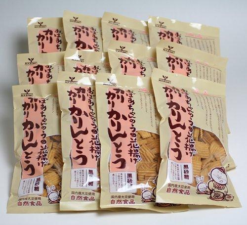 おばあちゃんのうの花揚げ カリカリかりんとう 【黒砂糖】 1ケース(12袋入)