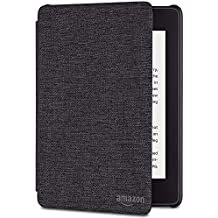 All-new Kindle Paperwhite Water-Safe Fabric Cover (10th Generation-2018) - Charcoal Black
