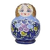 【ノーブランド品】木製 置物 ロシア民芸 ロシアの人形 マトリョーシカ人形 10個