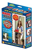 Magic Mesh The New and Improved Stronger Hands-Free Magnet Screen Door To Help Block Mosquitoes and Bugs 【Creative Arts】 [並行輸入品]