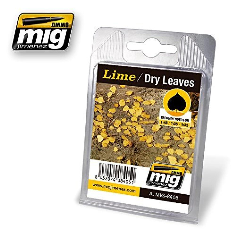 AmmoのMig Jimenez 1 : 32 – 35 – 48リアルなLeavesライム – Dry Leaves # 8405