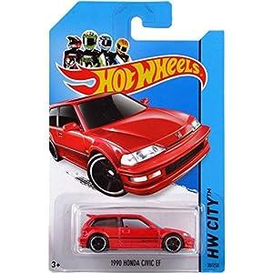 おもちゃ 2014 Hot Wheels ホットウィール Hw City 30/250 - 1990 Honda Civic EF by Hot Wheels TOY [並行輸入品]