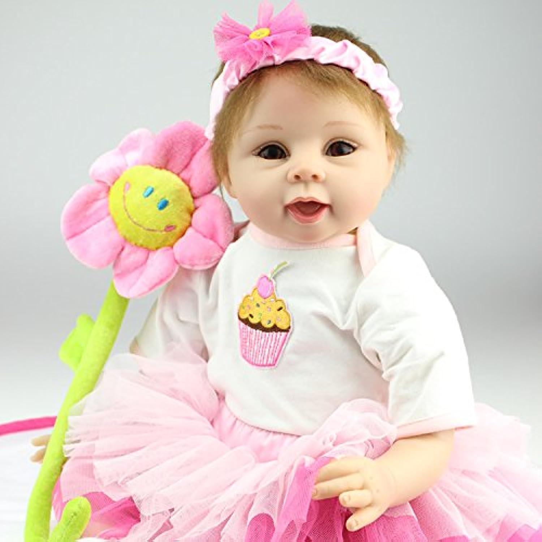 NPK COLLECTION 55CM リボーンドール ドール ベビードール きせかえ人形 お人形 新年プレゼント 誕生日プレゼント