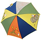 【子供傘】 miffy(ミッフィー) キッズ・ジュニア どうぶつ  手開き傘 カラフル (40cm)