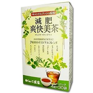 がんこ茶家 [キャンドルブッシュ配合] 減肥爽快美茶30袋
